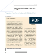 Problemática de Los Incendios Forestales en La Diversidad de Especies Vegetales a Nivel General y Nacional