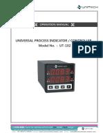 01 Process Indicator Controller%C2%A0Single display UT-101 102.pdf