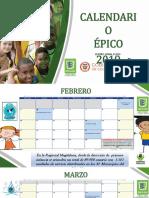 Calendario Epico 2019