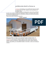 Venta de Casas prefabricadas desde La Serena en Chile.docx