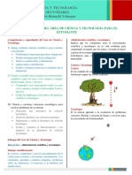 Orientaciones de ciencia y tecnología 2° secundaria
