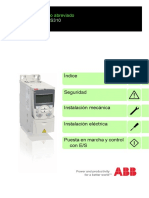 Manual Del Usuario Abraviado VARIADOR ABB-ACS310