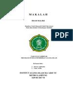 MADZHAB IMAM MALIKI.docx
