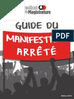 Guide Du Manifestant - 2013