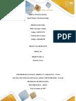 Unidad 3 - Fase 4 - Estructura Del Trabajo a Entregar
