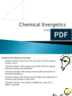 Chemical Energetics1