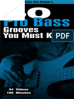 50 Pro Bass Grooves You Must Know - Stu Hamm's.pdf