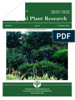 Volume 5, Issue 2 (2018) Tropical Plant Research