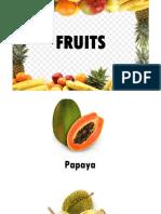 Introducing Malaysia local fruits
