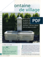 Une Fontaine de Village