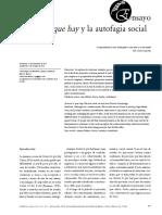 La AutofagiaSocial