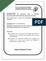 Língua Portuguesa - Reclassificação - 6º Ano