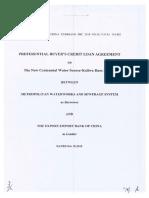 Philippines/China Eximbank - US$211M Kaliwa Dam Project Loan Agreement (2018 11 20)