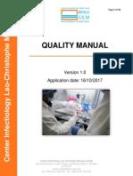Cilm Quality Manual