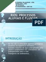 Slide Rios - Processos Fluviais e Aluviais