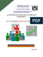 LA ESTADÍSTICA APLICADA AL ANÁLISIS ECONOMICO.pdf