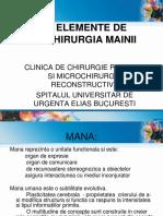 Elemente de Chirurgia Mainii