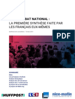 Rapport Make.org - Grand Débat national