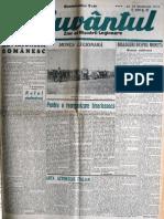 Cuvantul anul XVII (serie noua) nr. 60, 12 dec. 1940