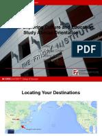 Study Abroad Orientation _ppt.2019
