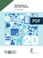 Celebrating 20 years of IP Education and Training