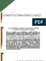 3 Constitucionalismo Clasico