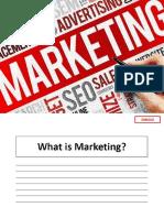 Manajemen Pemasaran Pertemuan 2 Pemasaran