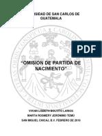 TRABAJO OMISION DE PARTIDA-ASIENTO EXTEMPORANEO DE PARTIDA....docx