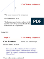 Case Writing Presentationggghhjj