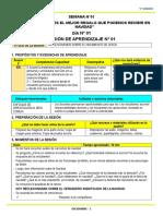 5° DICIEMBRE - SESIONES PROYECTO
