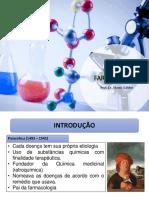 Aula 2 - Introdução à Química Farmacêutica I