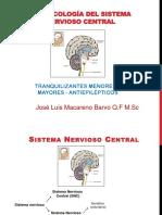 Farmacologia-S.N.C - Tranquilizantes Mayores y Menores - Antiepilépticos