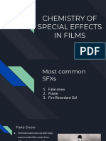The Chemistry of Special Effects in Films