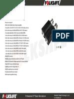 Datasheet FS HDP4100