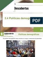 Políticas Demográficas  - 18-19