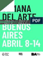 Programa Semana del Arte