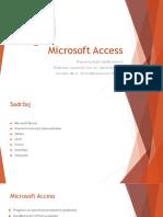 Microsoft Access Hadžihalilović Aldin