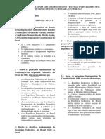 Lista de Exercícios - d. Constitucional Aula 1