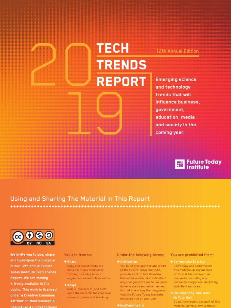 Tech Trends: 12th Annual Edition