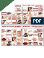cartela bingo corpo