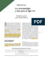 Jacorzynski&Jimenez Etica y Antropologia Para El Siglo XXI