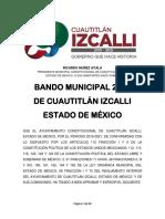 PDF Bando Municipal 2019 - Carta