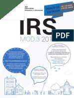 IRS Folheto 2018