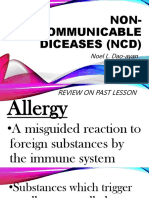 Non- Communicable Diceases (Ncd) Ppt