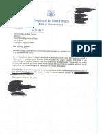 Sessions Pompeo correspondence 2018