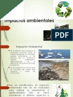 Clase 14a Impactos Ambientales