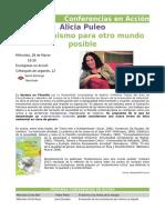 Conferencias en Accion - Alicia Puleo
