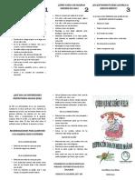 folleto
