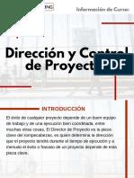 Curso Dirección y Control de Proyectos