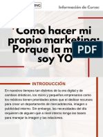 Curso Cómo hacer mi propio marketing